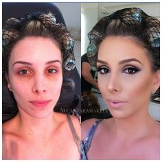 Before And After Photos That Reveal The Visual Power Of Makeup - Makeup is an amazing thing!