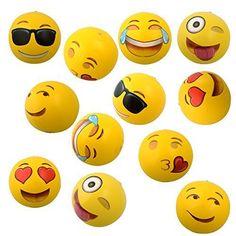 "rogeriodemetrio.com: 12"" Emoji Inflatable Beach Balls"