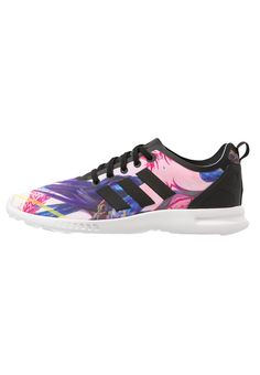 new arrival c3cdd 36342 adidas Originals ZX FLUX SMOOTH Sneaker core black chalk white