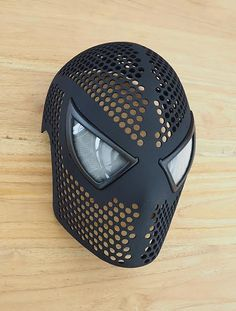Now Anyone Can Be Spider-Man with This Incredible 3D Printed Spidey Mask http://3dprint.com/86056/3d-printed-spider-man-mask/