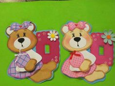 Ositos Foam Crafts, Paper Crafts, Switch Plates, Light Switch Covers, Paper Piecing, Doll Patterns, Kids Toys, Origami, Birthday Cards