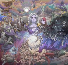 I love how every part of Forsaken is in here. Mara Sov is looking hot and on fire 😘 🔥 Destiny Cayde 6, Destiny Comic, Destiny Bungie, Destiny Hunter, Pokemon, Mundo Comic, Knight Armor, Video Game Art, Video Games