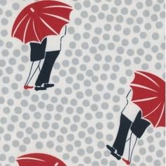 Town and Country - Umbrellas in Multi