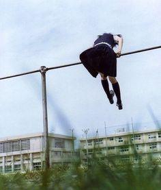 "blue』is a movie that was adapted from the 1996 manga by 魚喃 キリコ "" Rinko Kawauchi, Tavi Gevinson, Kubo And The Two Strings, Sayaka Miki, Photographie Portrait Inspiration, Gekkan Shoujo, Sarada Uchiha, Japanese School, Poses"