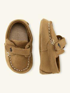 Captain Leather Loafer - Shoes  Layette Boy (Newborn-9M) - RalphLauren.com