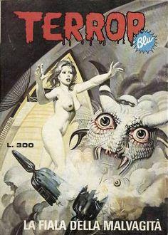 Terror Blu #17 - LA FIALA DELLA MALVAGITA'