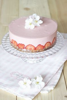 Cheesecake mit Erdbeer-Mousse