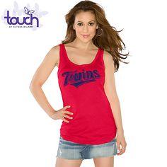 Minnesota Twins Touch by Alyssa Milano  Curveball Tank  - MLB.com Shop