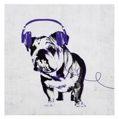 Music Love Bull Dog from Z Gallerie $49.95