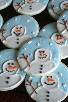 Snowman Cookies. | Flickr - Photo Sharing!