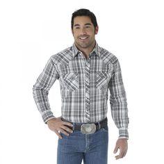 Wrangler® Long Sleeve Fashion Snap Shirt [MVG056M]