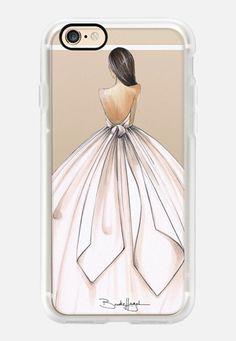 Gwen-Brunette Bride-Brooklit-Fashion Illustration iPhone 7 case by Brooklit | Casetify