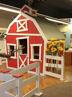 Imagine THAT! Playhouses The Barn playhouse