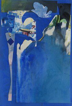Randall David Tipton: Corfu  Collage, watercolor; Yupo