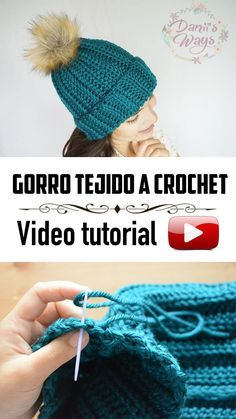 The Costa crochet hat Very easy crochet hat for beginners ! This is the most Roxanne Weaver Easy Crochet Hat, Crochet Winter Hats, Crochet Baby Hats, Crochet Beanie, Knit Crochet, Faux Fur Pom Pom, Pom Pom Hat, Crochet Hat For Beginners, Popular Hats