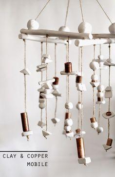Κρεμαστό με χάντρες από πηλό - ftiaxto.gr