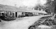 Old Photograph Cottages, Stobs Village, Scotland