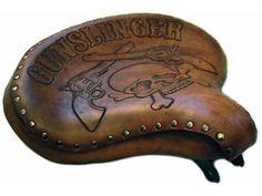 Custom Motorcycle Seats Hand Tooled Leather Seats- Roberti Customs