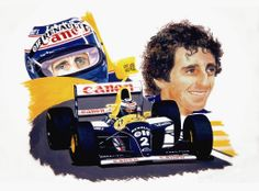 Alain Prost 1993 |