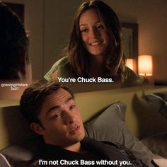 Image result for I'm not Chuck BAss without you