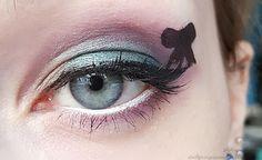 Sailor Pluto inspired makeup by http://stadtprinzessinnessa.blogspot.de/2016/02/sailor-pluto-blogparade-makeup.html