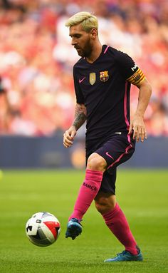 Lionel Messi of Barcelona in action during the International Champions Cup match…