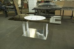 Holo Center Table by Marcus Tremonto for Swarovski #DigitalCrystal