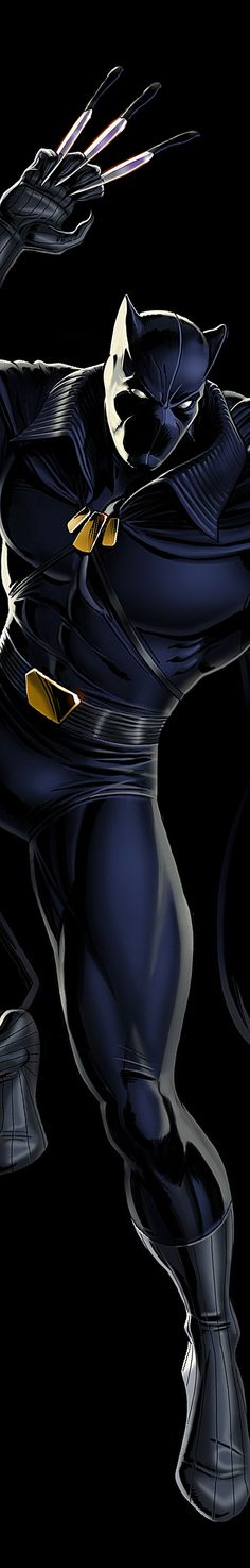 Black Panther a Phase 3 Marvel Movie coming our way! Comic Book Characters, Comic Book Heroes, Marvel Characters, Comic Books Art, Comic Character, Comic Art, Marvel Comics, Marvel Heroes, Marvel Avengers