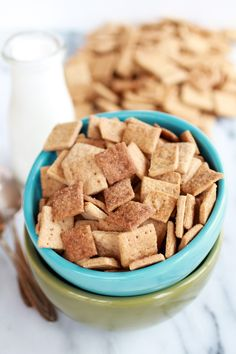 Homemade Cinnamon Toast Crunch halfbakedharvest.com - a must!