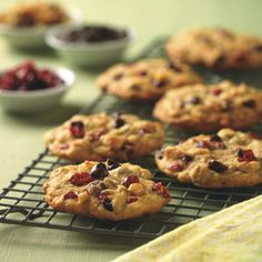 Chocolate Chip Craisin Cookies [w/1/2 C All Bran Orignial}