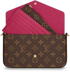 Buy and sell authentic handbags on StockX including the Louis Vuitton Pochette Felicie Monogram Fuchsia Lining and thousands of other used handbags with resale price data. Louis Vuitton Suitcase, Louis Vuitton Handbags 2017, Louise Vuitton, Leather Bags Handmade, Wallet Chain, Handbags Online, Luxury Bags, Louis Vuitton Monogram, Duffle Bags