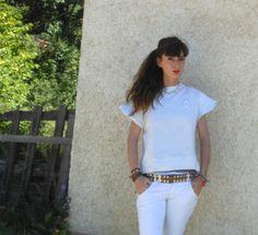 #fashion #streetstyle #fashionblog #totalwhitelook #totalwhiteoutfit #felpe #summer2013 #style #wedges #shoestrend #sweatshirt #romanticstyle #whitepants #fashioninspiration #fashiongirls #italy #fashionbrands #fashionideas #summerstyle #sweatshirtdiy #fashionamy #thefashionamy #amandamarzolini #fashionblogger #summermood #pinteresttrends #fashionblogitaly
