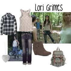 """Lori Grimes"" by evil-laugh on Polyvore"
