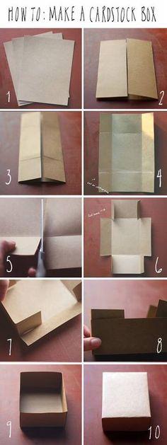 Box DIY origami