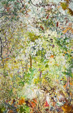 Joan Becker, Four Seasons, Gouache, 81 x 52. 2008.