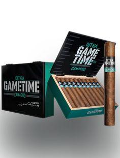 Camacho Ditka Game Time Gigante Cigars - Natural Box of 20 Tolle Geschenke mit Zigarren gibt es bei http://www.dona-glassy.de/Geschenke-mit-Zigarre:::64.html