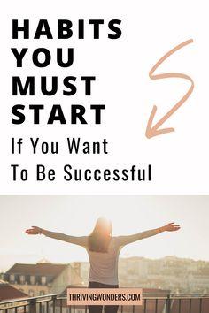 Habits Of Successful People, Successful Women, Self Development, Personal Development, Leadership Tips, Good Habits, Self Care Routine, Business Motivation, Happy People