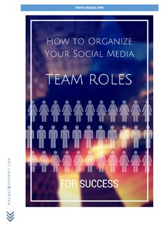 The rest of this post discusses 11 different roles that make up a fully functional social media team. But that doesn't mean that you'll necessarily need to hire 11 different people to achieve the outcomes you are looking for. If you're a small business (on a budget), less persons may cover multiple roles to flesh out your strategy on a smaller scale.