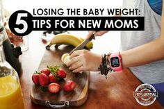 5 tips for losing the baby weight