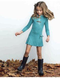 Blog sobre puericultura y ropa para niños Cute Girl Dresses, Cute Girl Outfits, Toddler Girl Outfits, Girly Outfits, Toddler Fashion, Pretty Outfits, Kids Outfits, Girls Fall Fashion, Preteen Girls Fashion