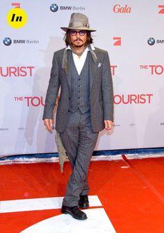Looks de Johnny Depp : un style entre grunge et vintage pas toujours au top !