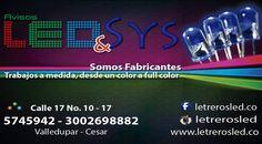 Letreros y Avisos LED Programables Web: www.letrerosled.co  Ventas: 300-2698882  #Colombia