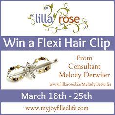 Lilla Rose Flexi Clip {Blog Birthday Giveaway} - My Joy-Filled Life