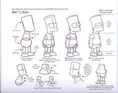 The Simpsons Original Model Sheets