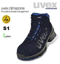 Bocanci de protectie Uvex ONE logistica servicii usori S1 aerisiti Hiking Boots, Sneakers, Shoes, Fashion, Stairs, Shoe, Walking Boots, Trainers, Moda