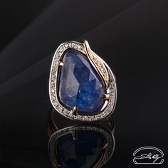 Anello Tanzanite - Tanzanite and Diamonds Ring - Precious Jewelry - Jewels - Silvia Kelly Gioielli - Italy - www.quelchevale.it