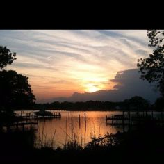 Colonial Beach, Va Monroe Bay....spent many a summer night with best friends here.  <3 the Northern Neck!