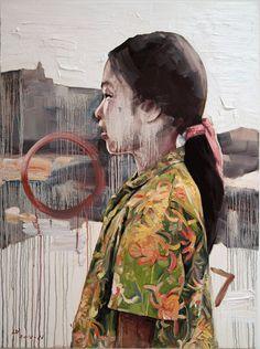 Hung Liu  #Hung Liu #art #kunst