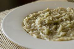La ricetta del risotto ai topinambur e gorgonzola per un primo cremoso ed accattivante