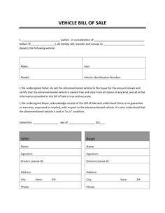 Bill Of Sale Template Canada Bill Of Sale Template, Sales Template, Id Card Template, Receipt Template, Invoice Template, Templates Printable Free, Printables, Word Templates, Printable Invoice